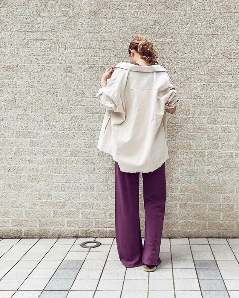 ZARA(ザラ)の「ポケット付きコーデュロイ地シャツジャケット」をあわせたコーディネートです