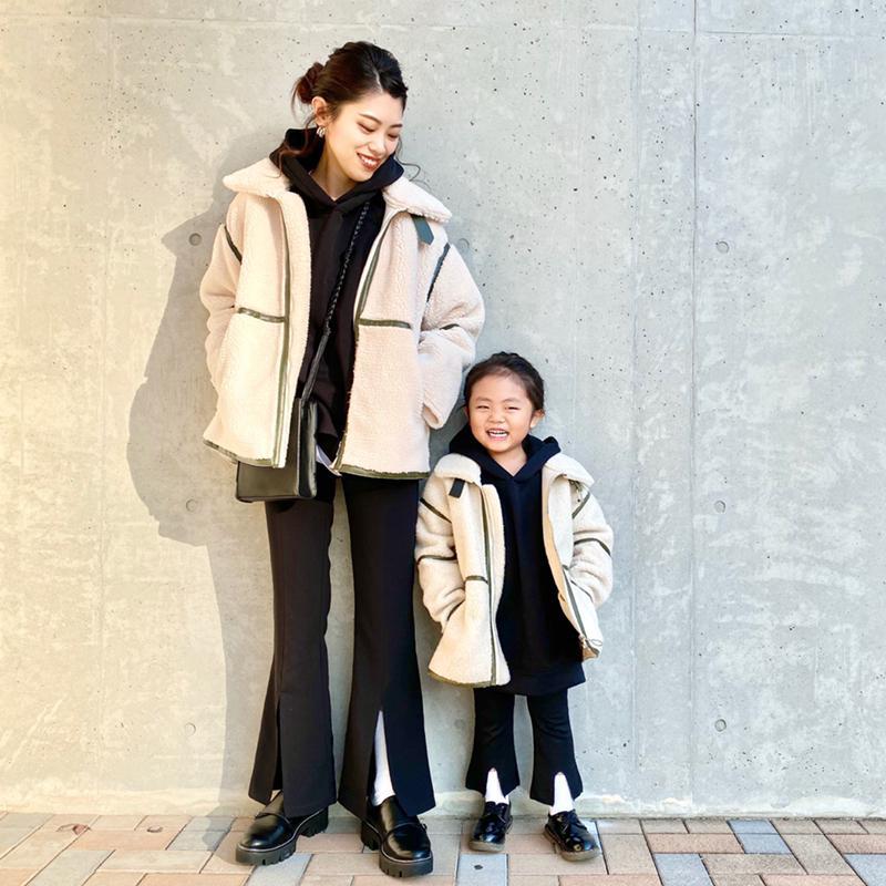 GU(ジーユー)の「オーバーサイズスウェットプルパーカ(長袖)」をあわせたコーディネートです