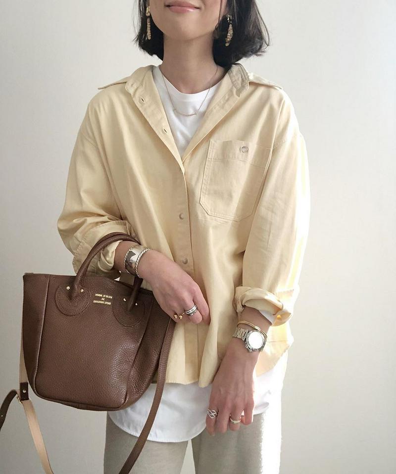 UNIQLO(ユニクロ)の「デニムオーバーサイズシャツ(長袖)」をあわせたコーディネートです