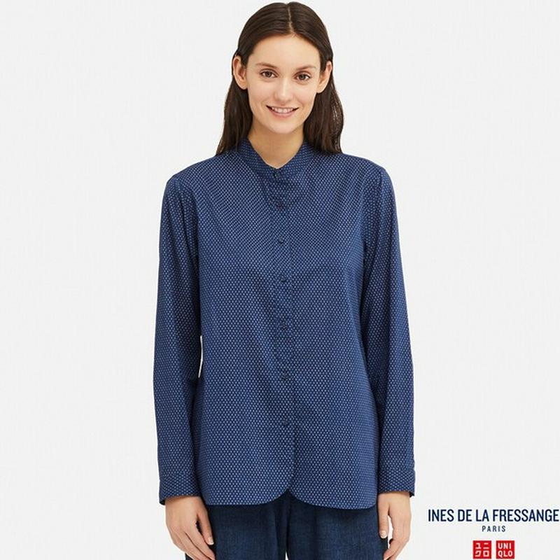 コットンローンシャツ(長袖)