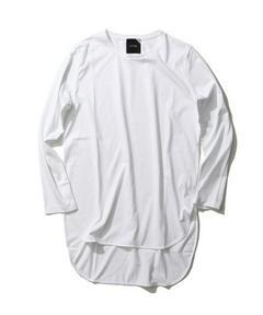 【BEST SELLER】SUVIN 60/2 ラウンドヘム ロングTシャツ