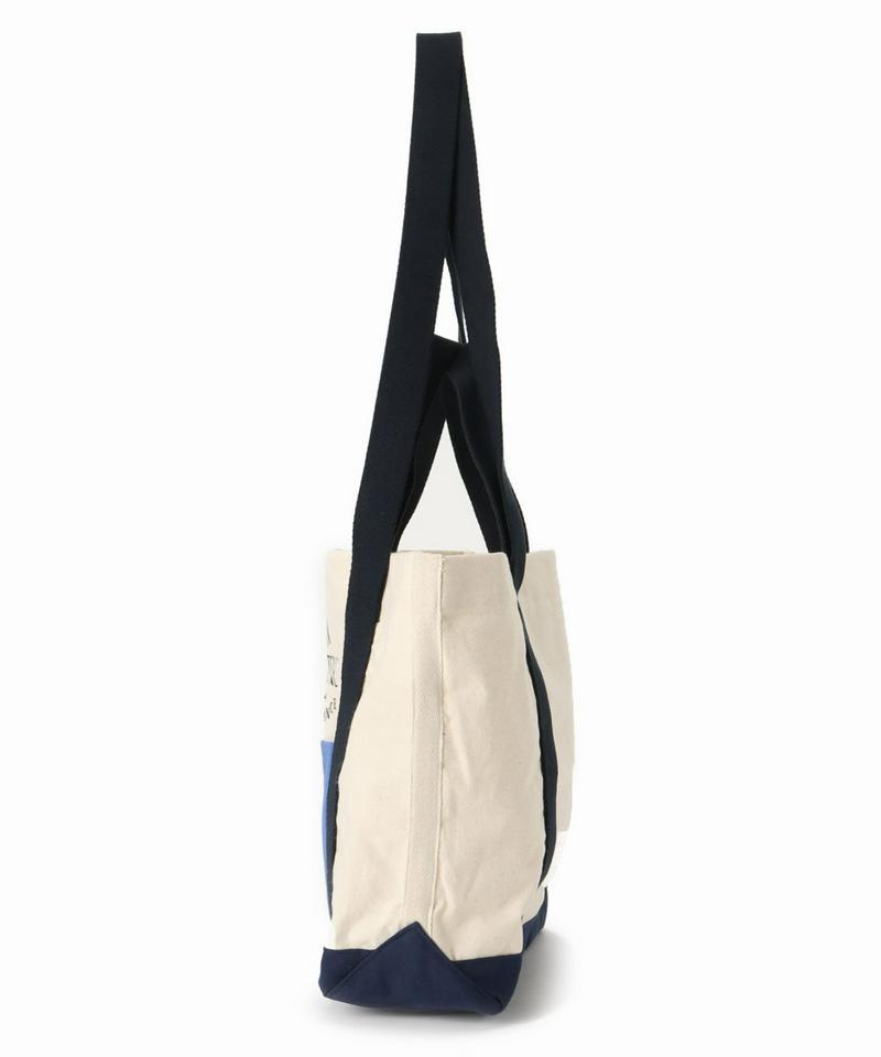 MAISON KITSUNE COLOR-BLOCK SMALL トートバッグ