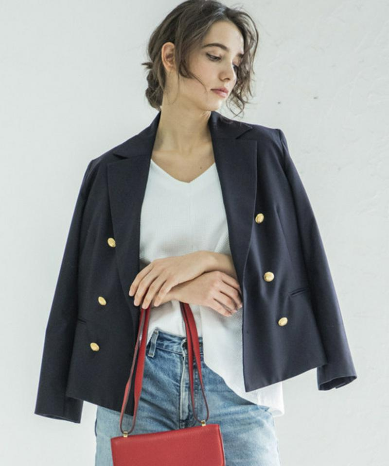 DOUBLE SHORT JACKET