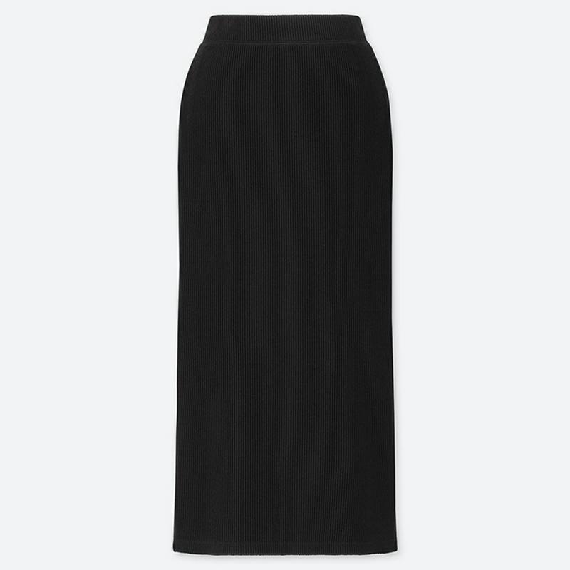 リブタイトロングスカート(丈標準76~80cm)