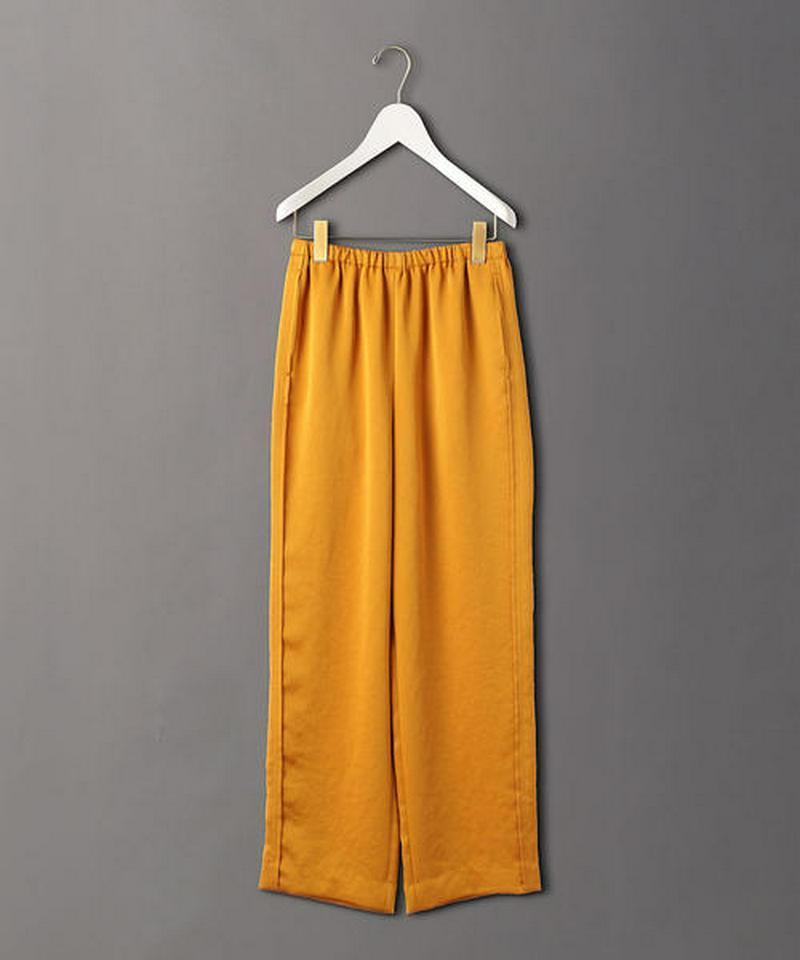 <6(ROKU)>NEW SATIN PANTS/パンツ ◇