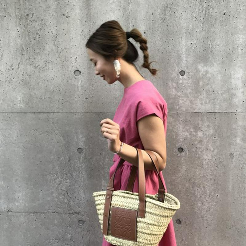 【VERY 掲載】linen maxi dress