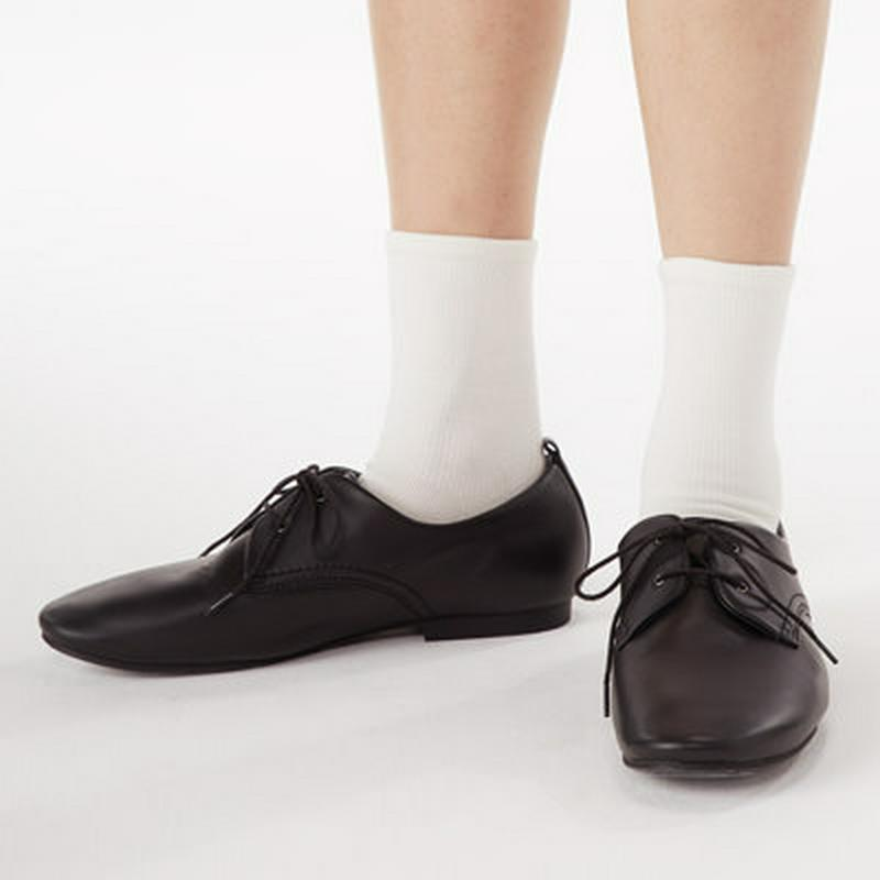 足なり直角 足のサイズに合わせてくれる 靴下(婦人・えらべる) 21~25cm・オフ白