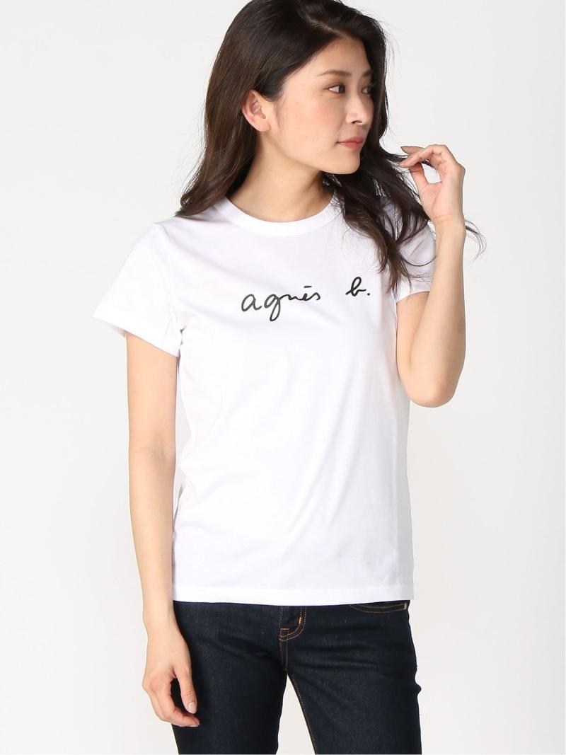 FEMME/(W)S137 TS ロゴTシャツ(agnes b. FEMME)