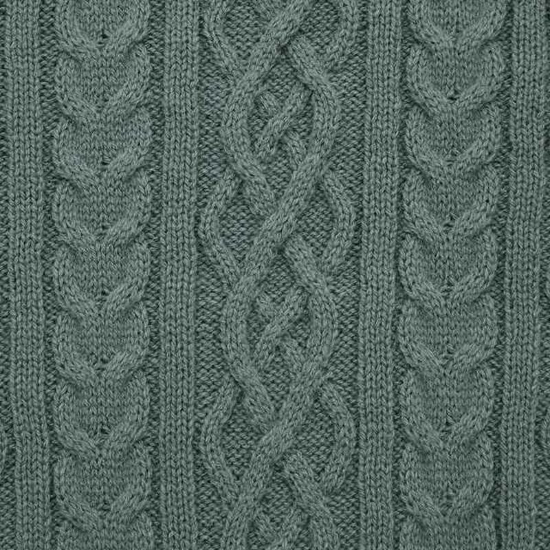 ケーブルクルーネックセーター(長袖)