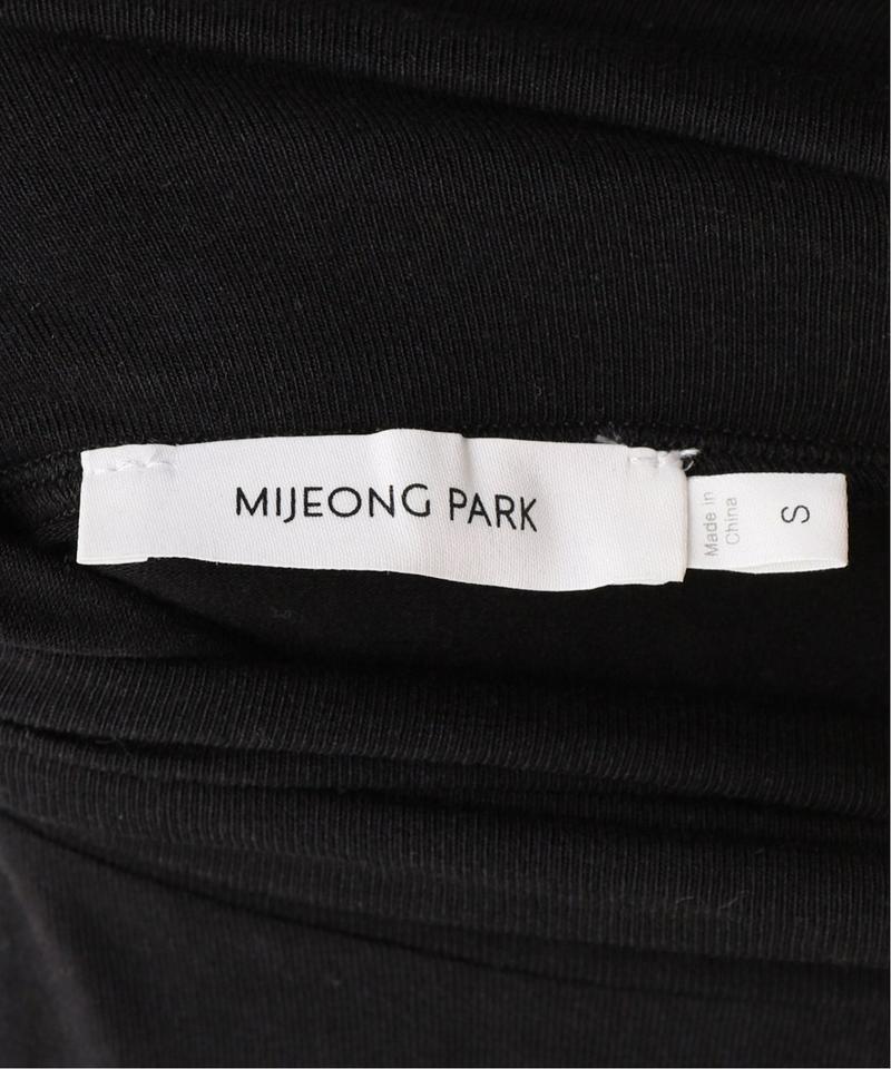【MIJEONG PARK】ロールネックジャージートップ