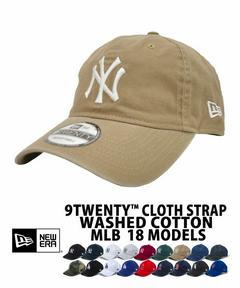 【クーポン利用で12%off】NEW ERA ニューエラ キャップ ベージュ レディース 9TWENTY クロスストラップ ウォッシュドコットン ニューヨーク・ヤンキース カーキ MLB 18モデル メンズ 帽子 刺繍 定番 ローキャップ ヤンキース 定番 送料無料 newera