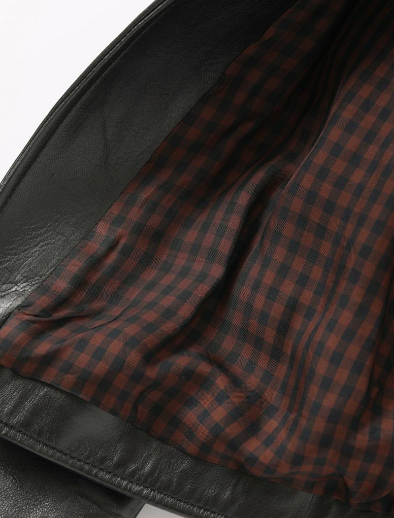 【★予約★11月下旬入荷】ヴィンテージレザーライダースジャケットdark brown