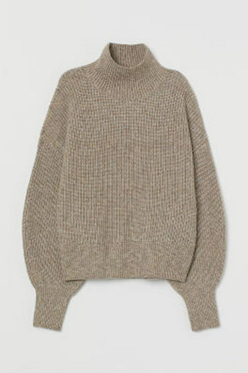 バルーンスリーブセーター