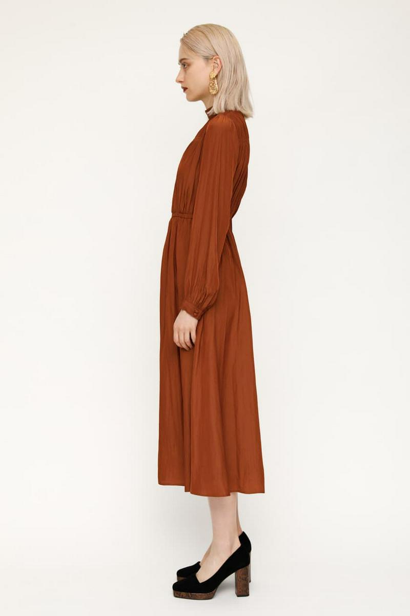 GATHER STAND N/C ドレス