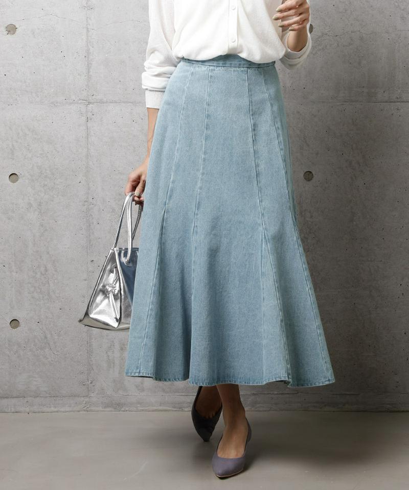 デニムソフトマーメードスカート
