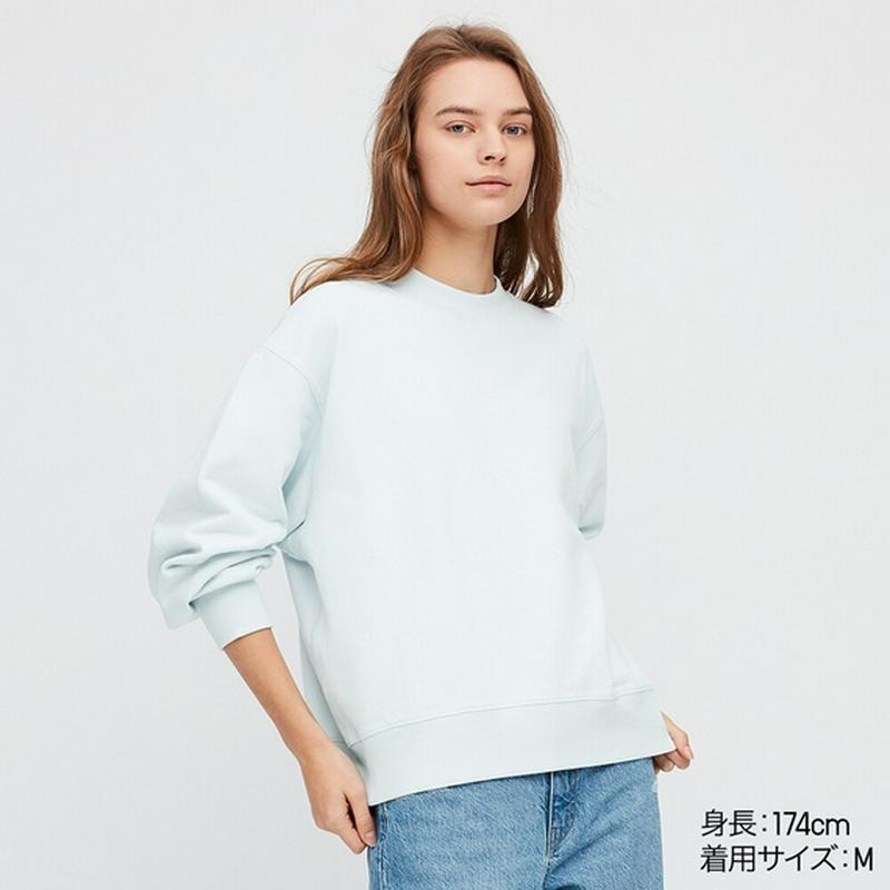 スウェットクルーネックシャツ(長袖)