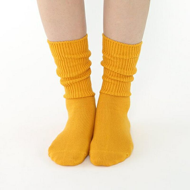 【あす楽】【靴下屋】 リブベタソックス24〜26cm / 靴下 タビオ Tabio くつ下 クルー レディース 日本製