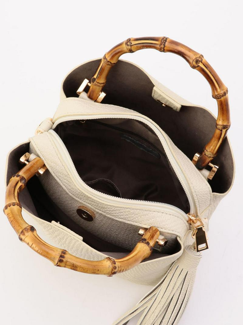 バンブー型押しセパレートバッグ