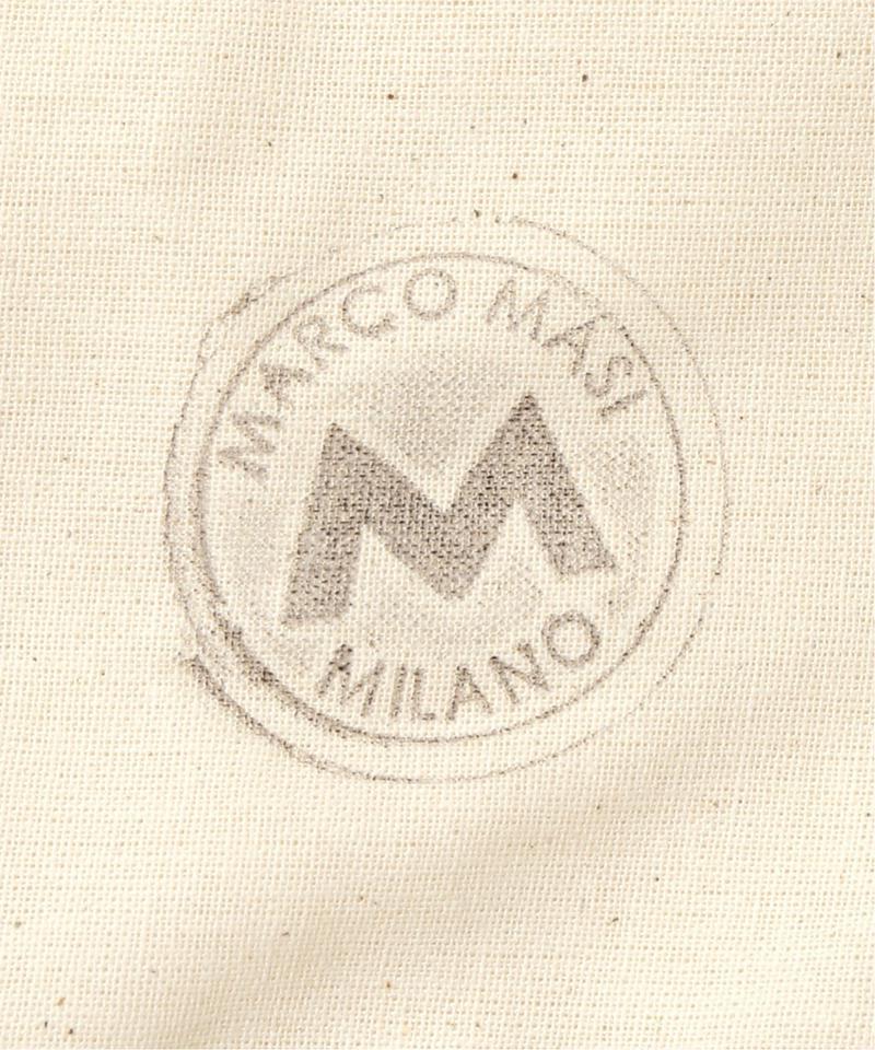 MARCOMASI ミニバッグ(ホワイト・ブルー)