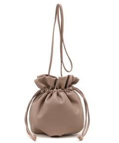 ミニレザー巾着BAG