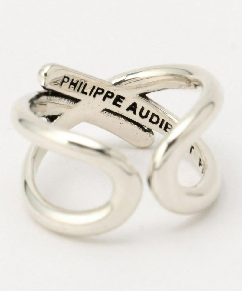 PHILIPPE AUDIBERT/クロスデザインリング