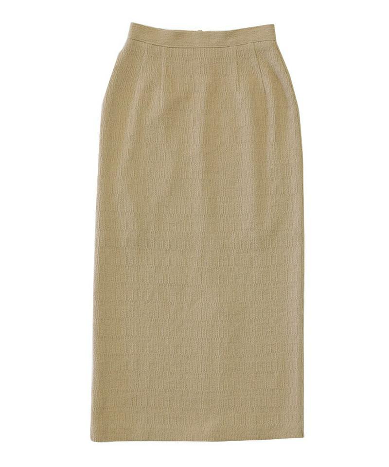 2020 S/S リネンライクタイトスカート【メール便不可】