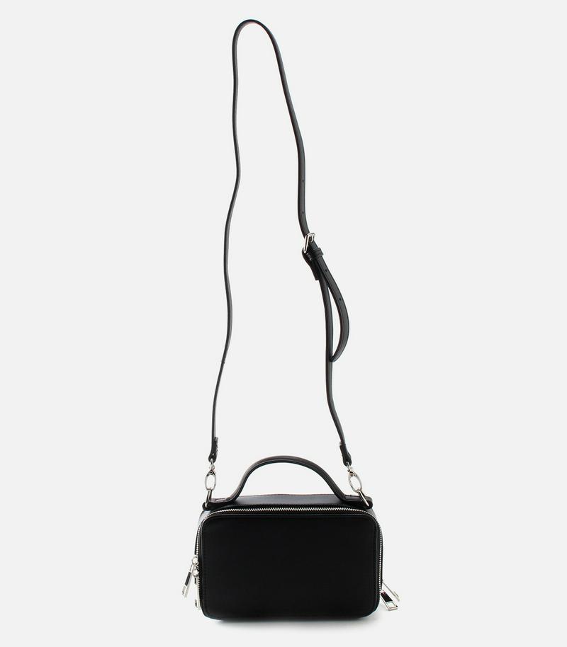 DOUBLE ZIP MINI SHOULDER BAG/ダブルジップミニショルダーバッグ