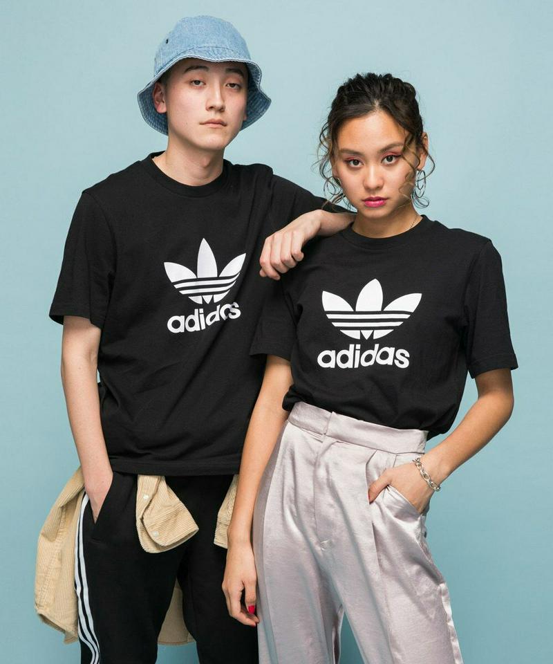 【限定クーポン配布中】アディダス adidas トップス オリジナルス Tシャツ TREFOIL TEE ユニセックス 正規品 半袖 ハーフスリーブ ロゴTee レディース メンズ