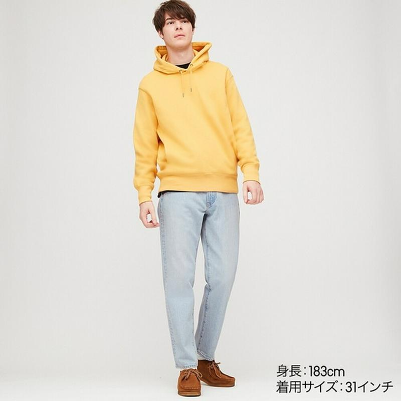 レギュラーフィットテーパードジーンズ(丈標準73~76cm)