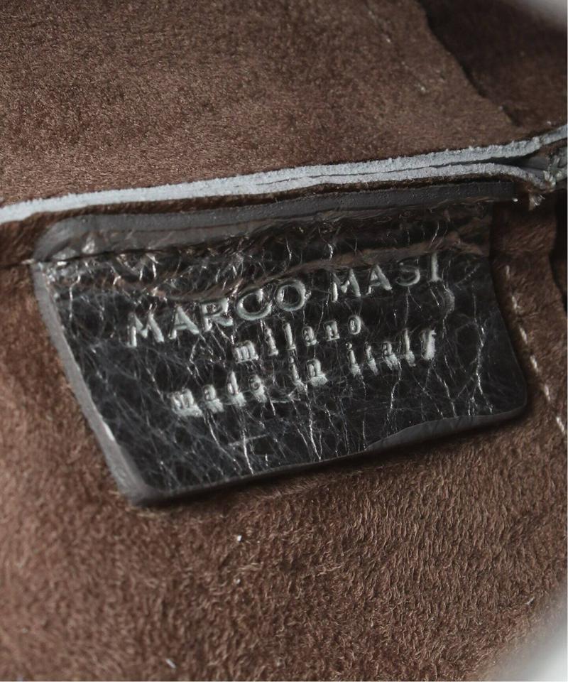 【MARCO MASI/マルコマージ】ラミネートキンチャクBAG