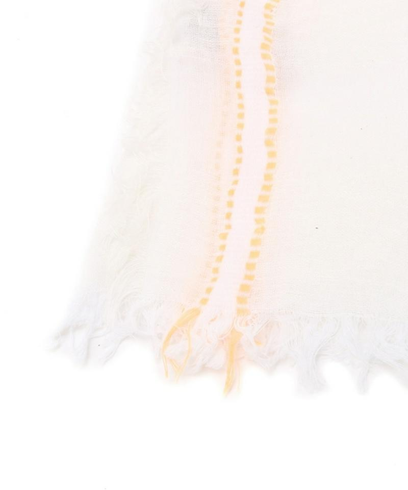【altea】フルー刺繍ソリッドストール
