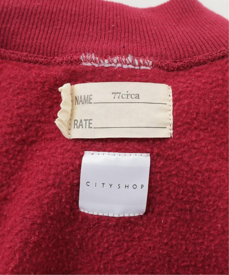 【77circa/77サーカ】make shirring sweat top:スウェット