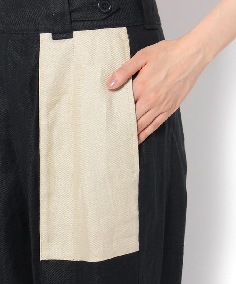 【EQUIPMENT】バイカラーポケットパンツ