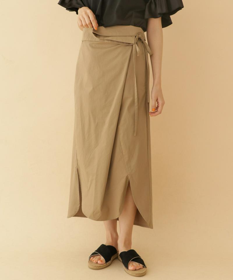 コードラップロングスカート