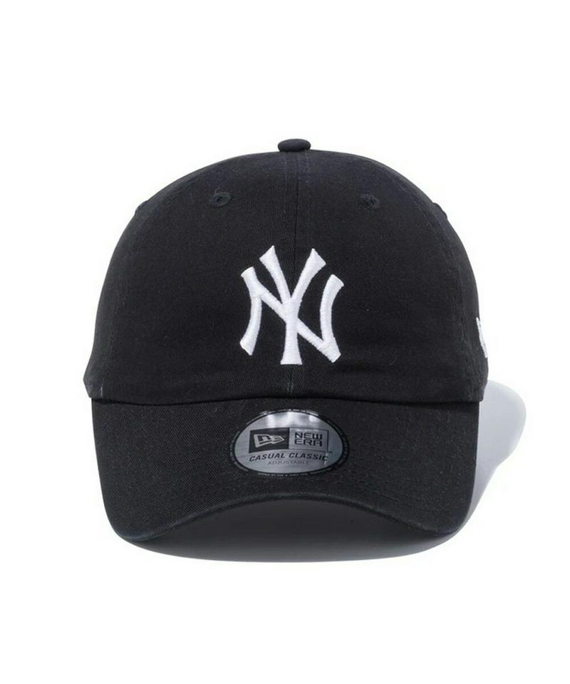 【NEW ERA 15%offクーポン配布中】NEW ERA ニューエラ キャップ Casual Classic ヤンキース ブラック ホワイト ネイビー カーキ 12489144 12489141 12489142 12489143 帽子 送料無料 newera