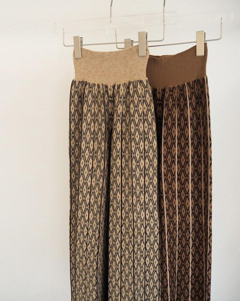Pattern Knit Leggings