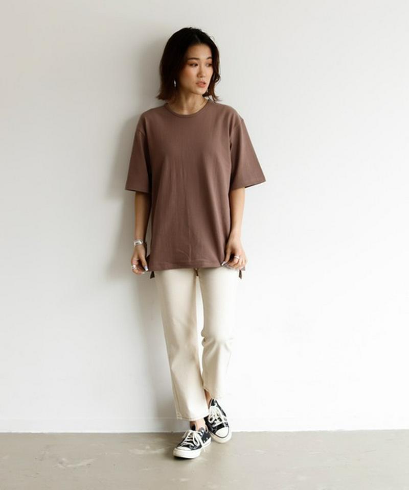 【Holiday】ヘビーウェイトスリットTシャツ◆WEB限定◆