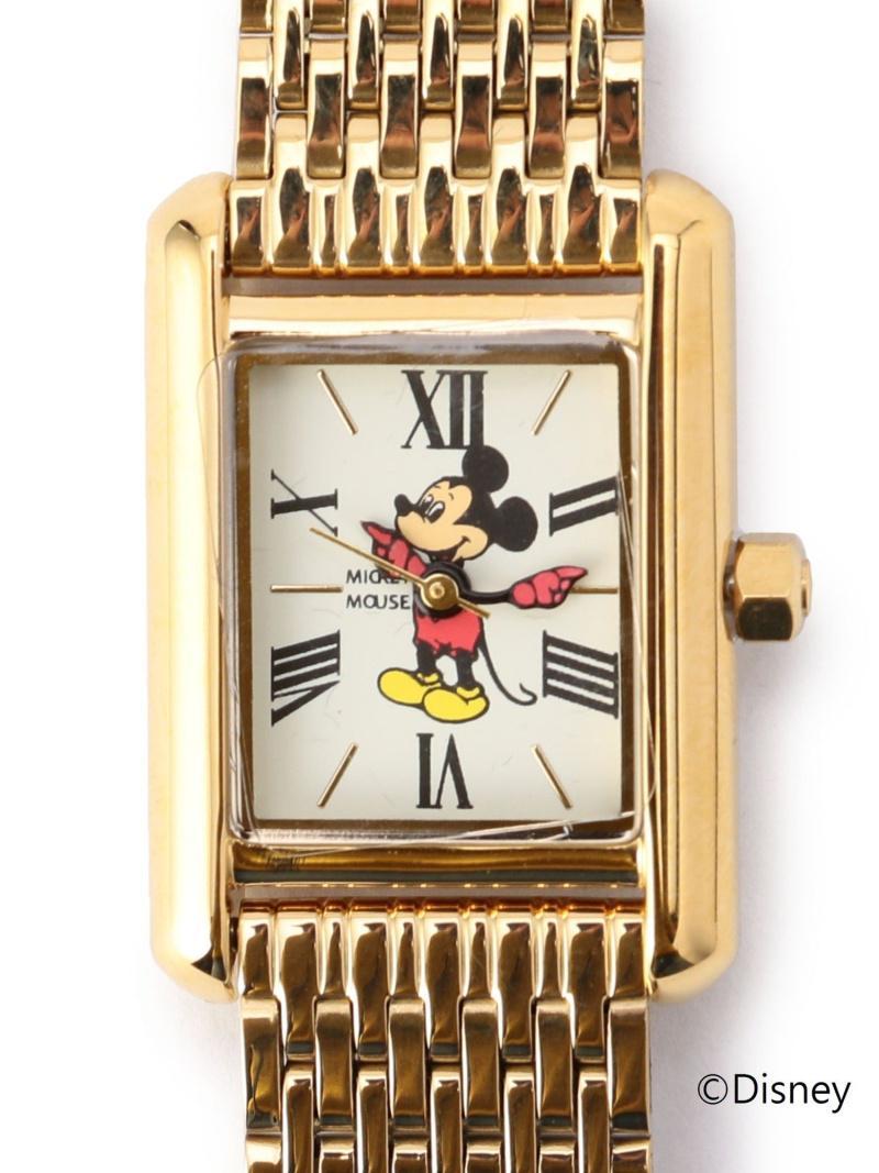 Disney:ミッキーマウススクエアウォッチ(Khaju)