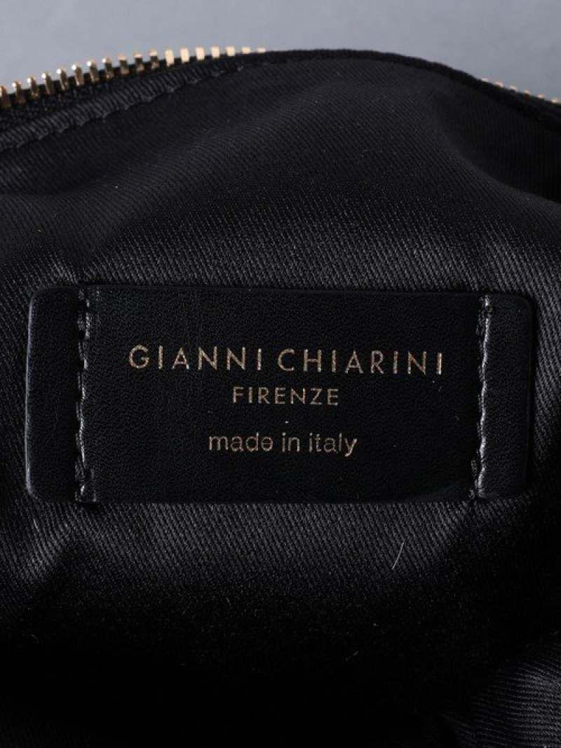<GIANNI CHIARINI(ジャンニ キアリーニ) >ALIFA レオパード バッグ S
