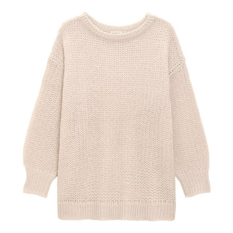 オーバーサイズセーター(長袖)YG+E