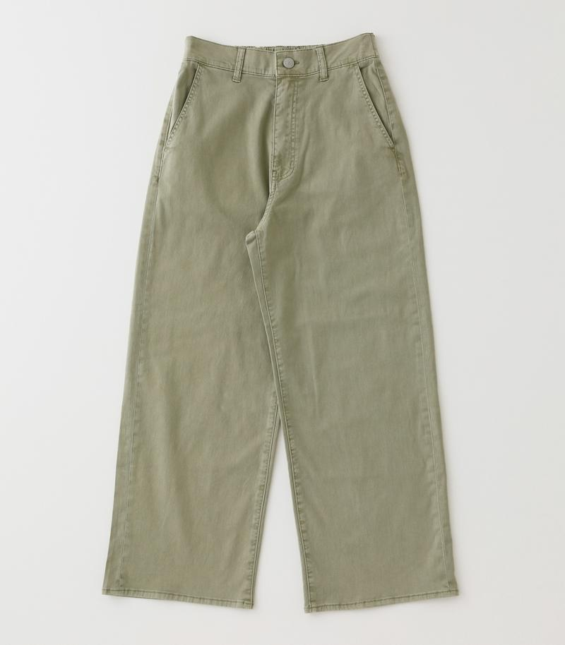 COLOR HIGH WAIST LOOSE PANTS/カラーハイウエストルーズパンツ