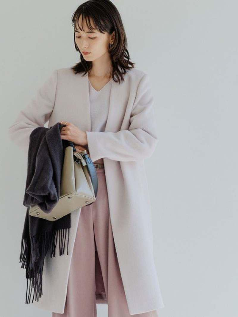 ◆CS W/N ノーラペル  コート