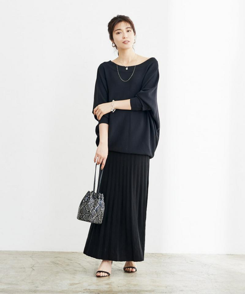 プリーツロングスカート【メール便可/100】