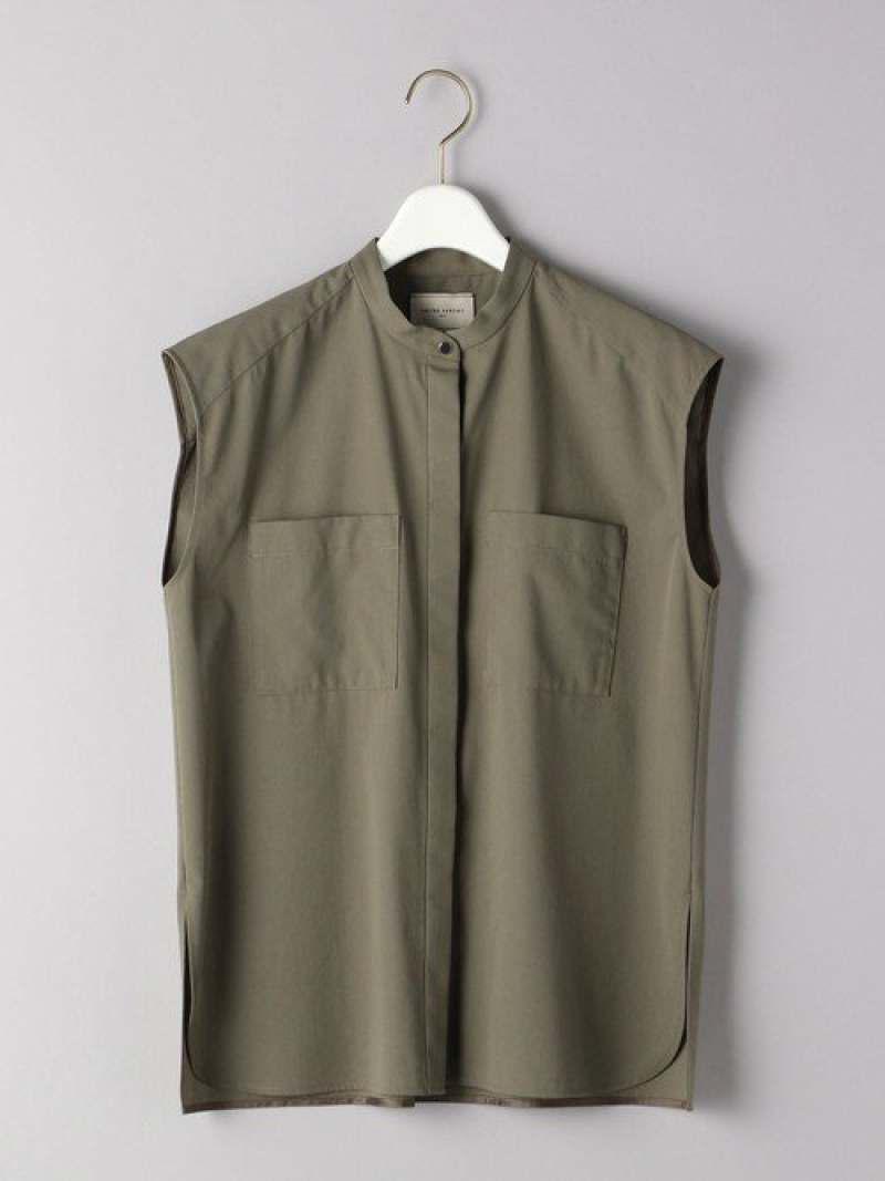 UBCB2ポケットノースリーブシャツ