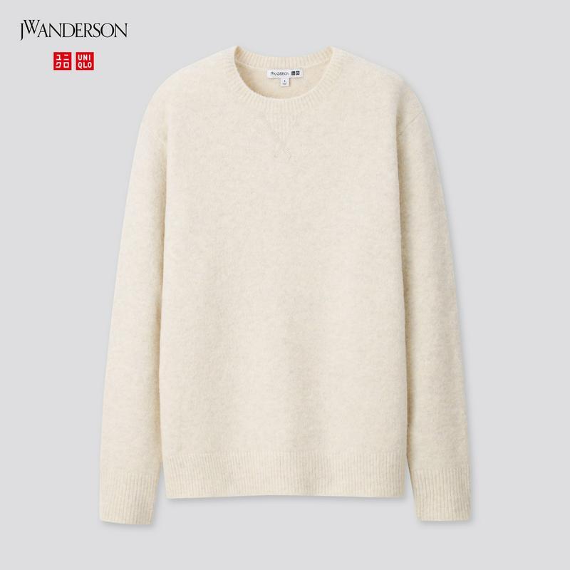 スフレヤーンクルーネックセーター(長袖)