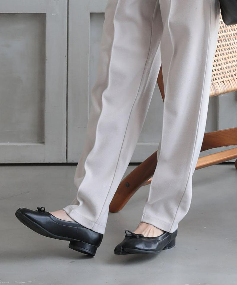 【週末限定クーポン配布中】送料無料 足袋 ヒールパンプス レディース 足袋シューズ パンプス フラットパンプス ローヒール 合皮 PUレザー フラットシューズ 美脚 靴 DONOBAN|歩きやすい 疲れにくい 痛くない 走れる 柔らかい 無地 ドノバン