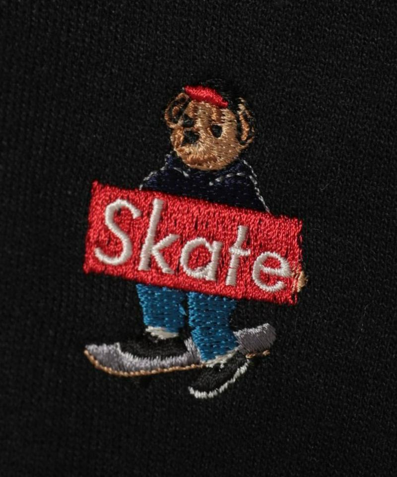スケートベアロゴスウェットパーカー【WEB限定】