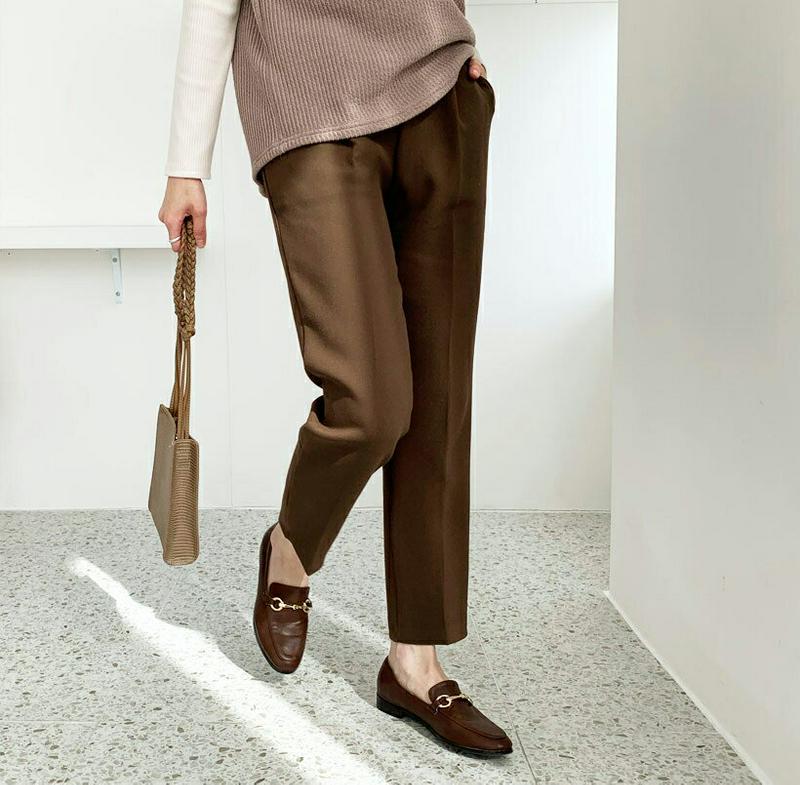 【新作10%OFF 】タックスリムスラックス・全3色・b56074 レディース【pt】【韓国 ファッション ボトムス ズボン パ