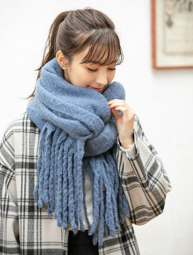 【スタイリストプロデュース】ソフトタッチフリンジストール