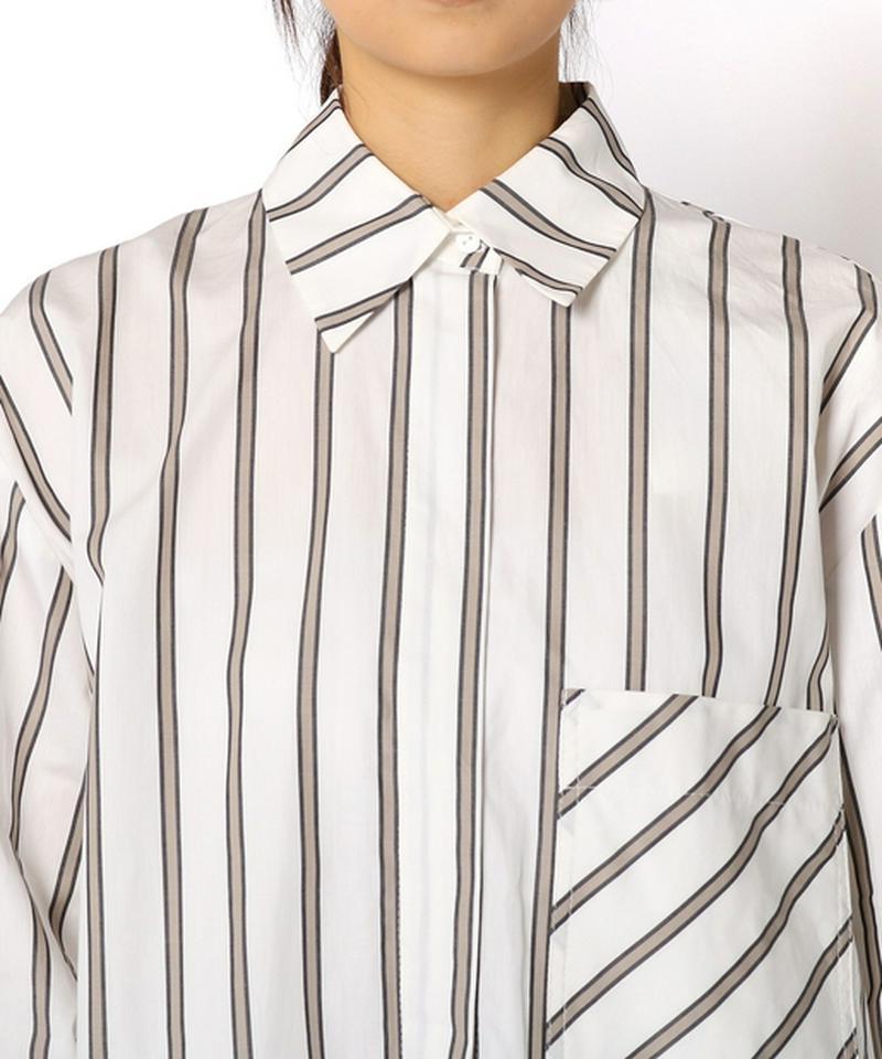 【MYKKE HOFMANN】ストライプシャツ